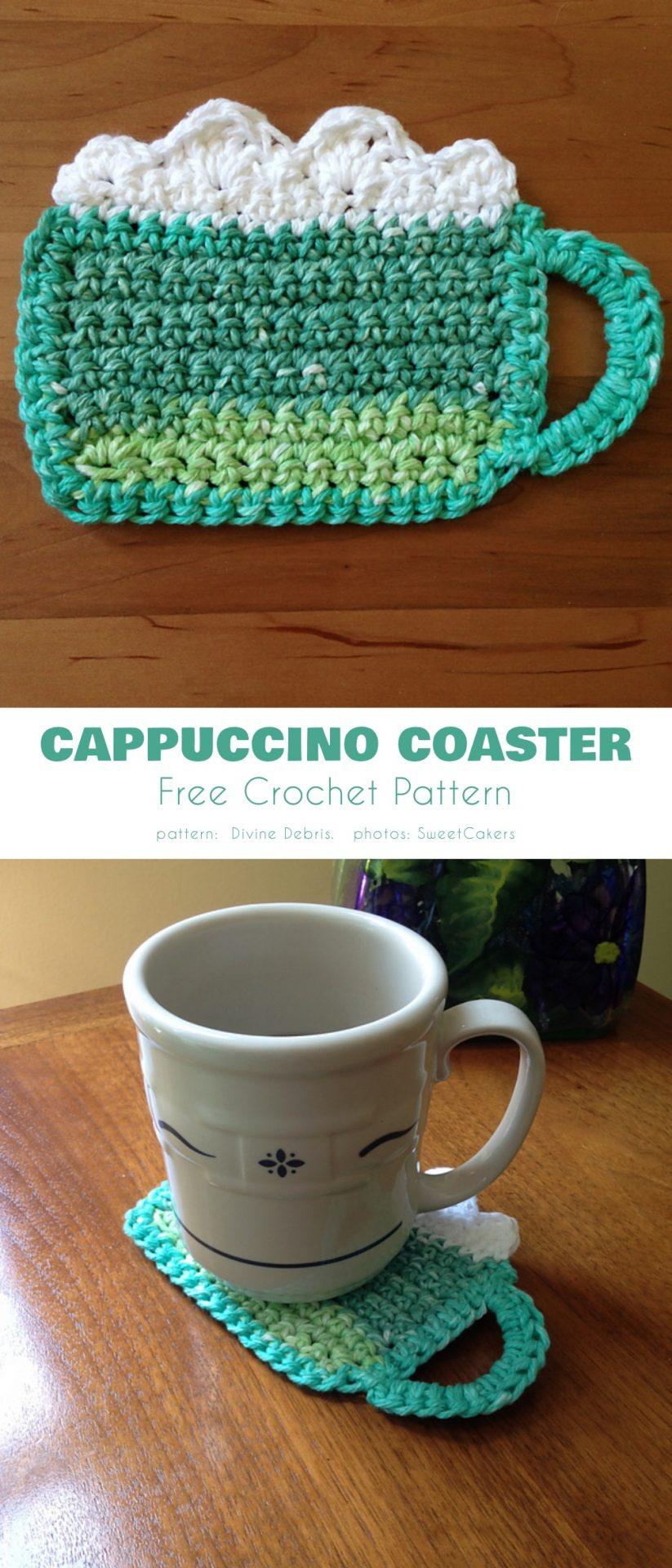 Cappuccino Coasters