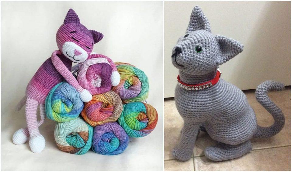 Large Ami Cat Free Crochet Patterns