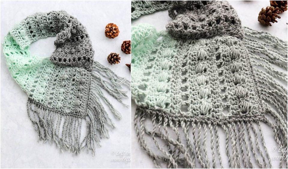 Mint Twist Scarf Free Crochet Pattern