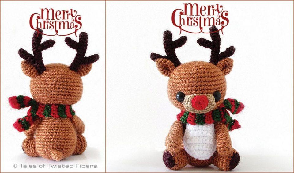 Rudy The Reindeer Free Crochet Pattern