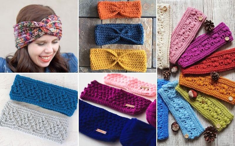 Cosy Crochet Ear Warmers Free Patterns