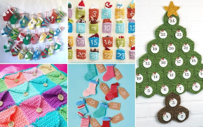 Crochet Advent Calendars Free Patterns