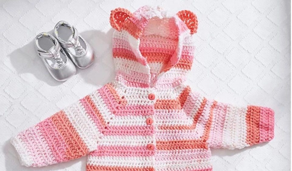 Baby Hoodies Free Crochet Patterns