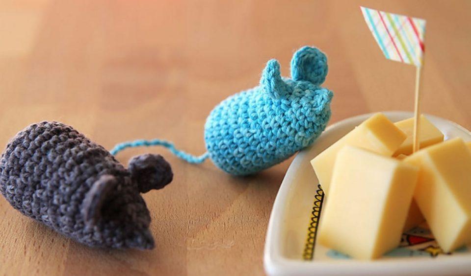 Cheeky Mice Free Crochet Pattern