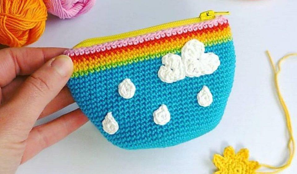 Coin Purse Pouch Free Crochet Pattern