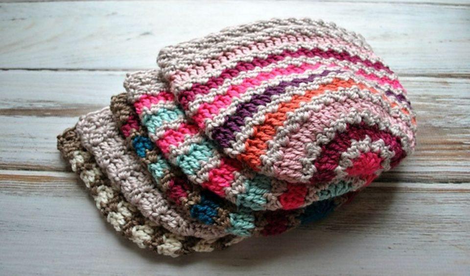 Hump De Bump Beanie Free Crochet Pattern
