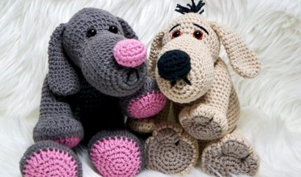 Theo Taze Dog Free Crochet Pattern