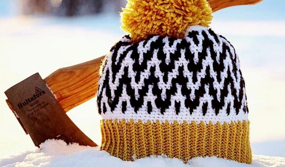 Up North Hat Free Crochet Pattern