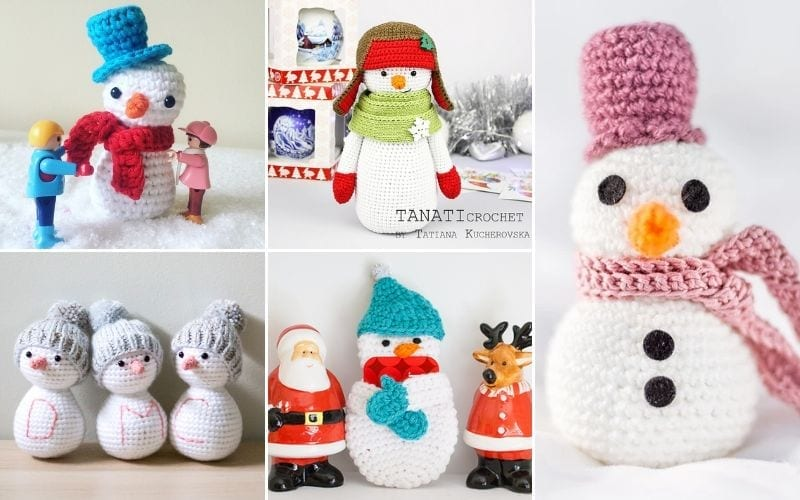 Adorable Snowman Amigurumi Ideas Free Crochet Patterns