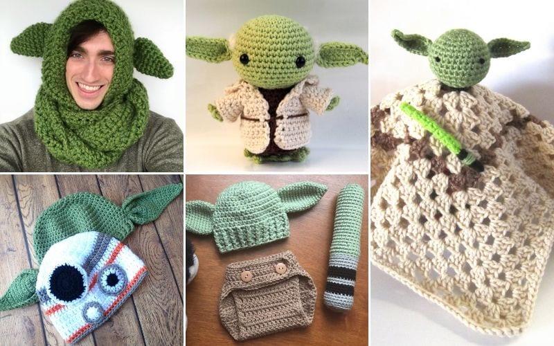 Yoda Inspired Crochet Projects Free Patterns