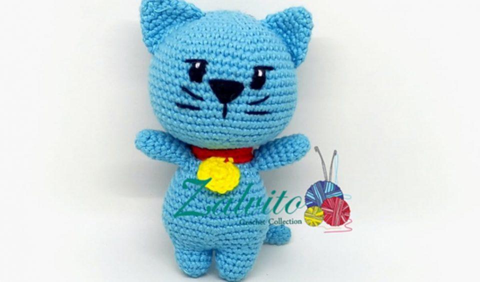 Charlie The Fat Cat Free Crochet Pattern