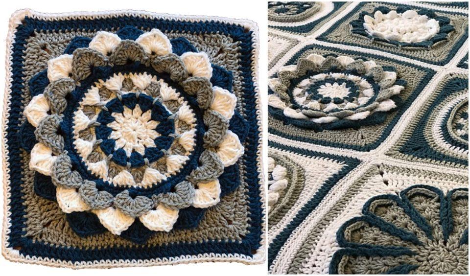 Floral Afghan Free Crochet Patterns