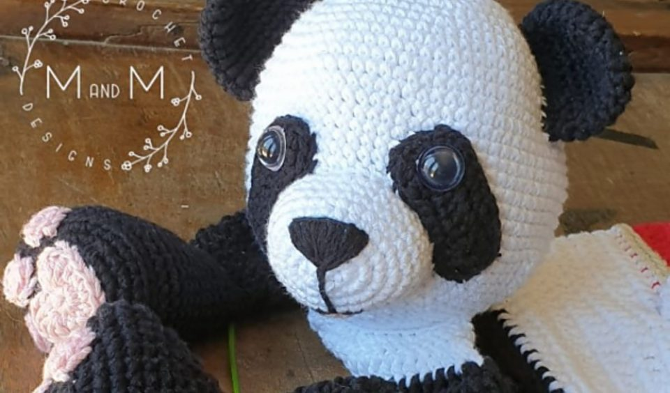 Melly Teddy Ragdoll Panda Bear Free Crochet Pattern