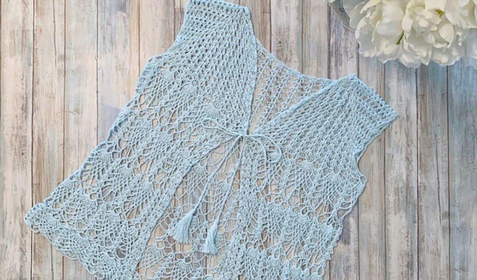 Summer Love Vest Free Crochet Pattern