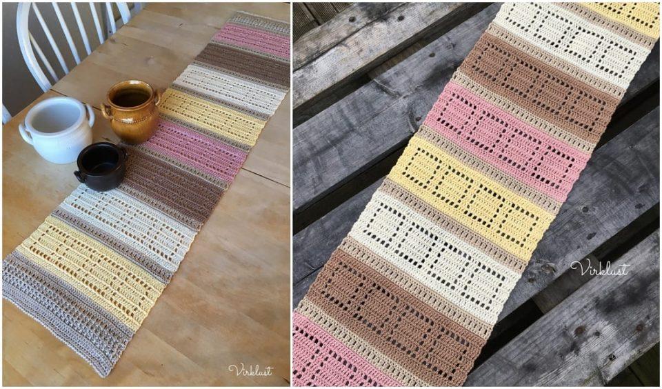 Table Runner Free Crochet Patterns