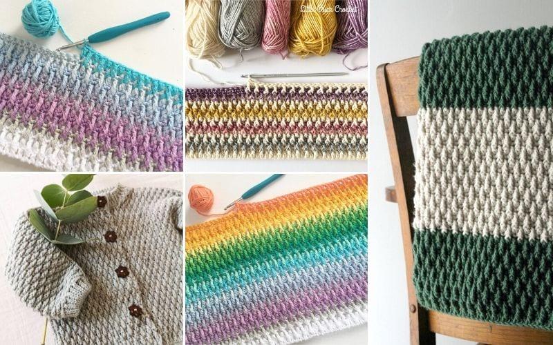 Alpine Stitch Crochet Ideas