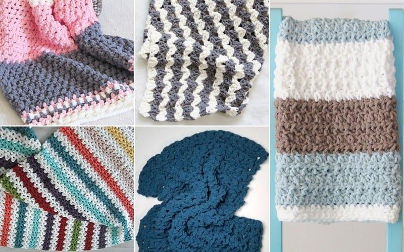 One Day Crochet Blankets Free Crochet Pattern