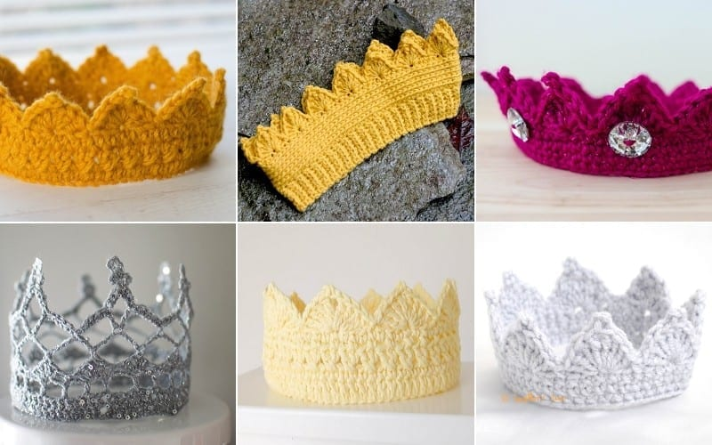 Stunning Crochet Crowns Free Crochet Patterns