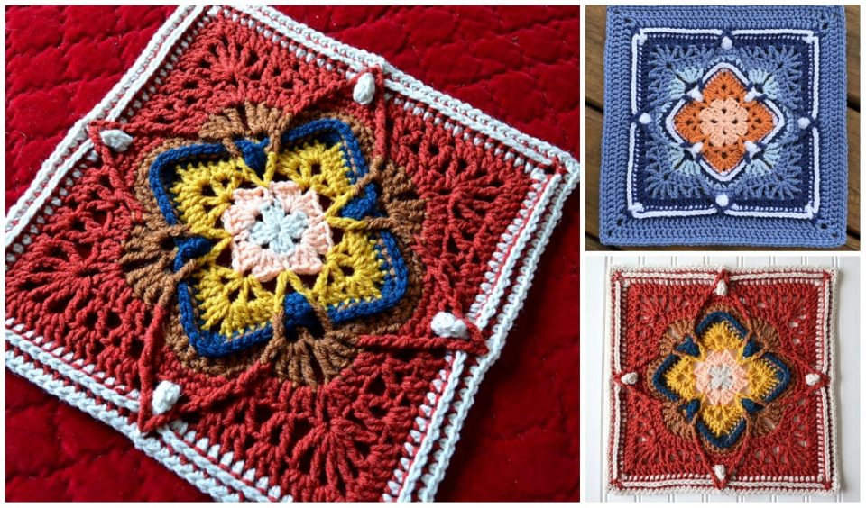 Cheers Square Free Crochet Pattern
