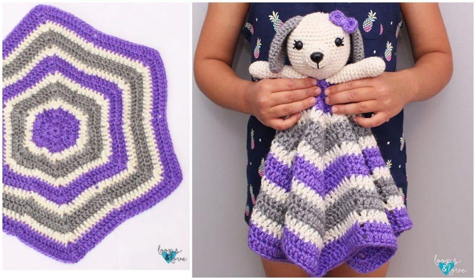 Puppy Lovey Free Crochet Pattern