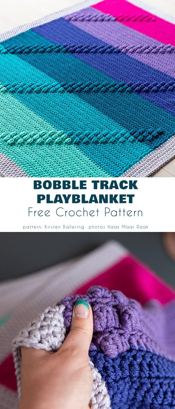 Bobble Track Playblanket