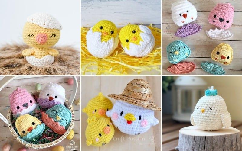 Adorable Amigurumi Chicks