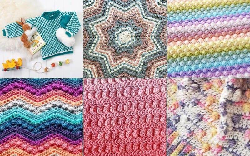 Bobble Stitch Crochet Projects