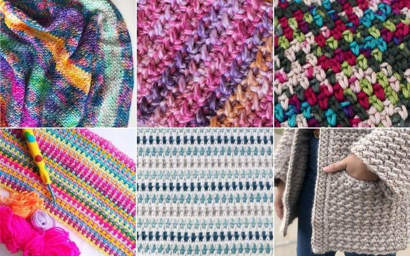 Moss Stitch or Linen Stitch Ideas