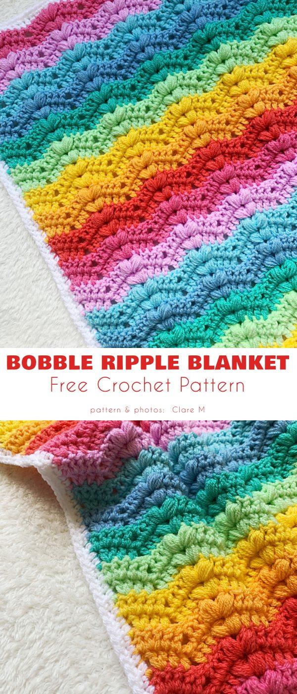 Bobble Ripple Blanket