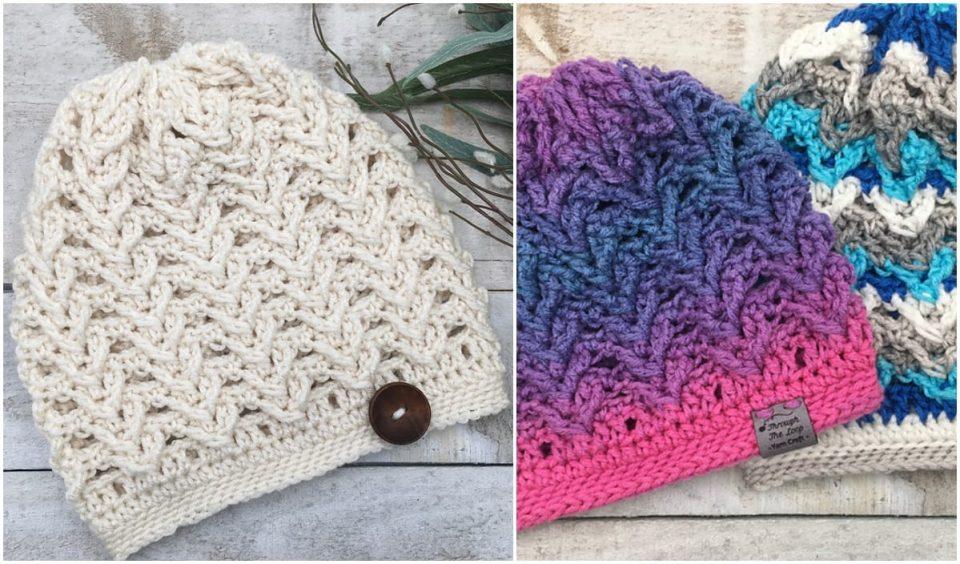 Sheridan Ridge Slouch Hat Free Crochet Pattern