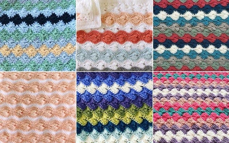 Catherine Wheel Stitch Projects