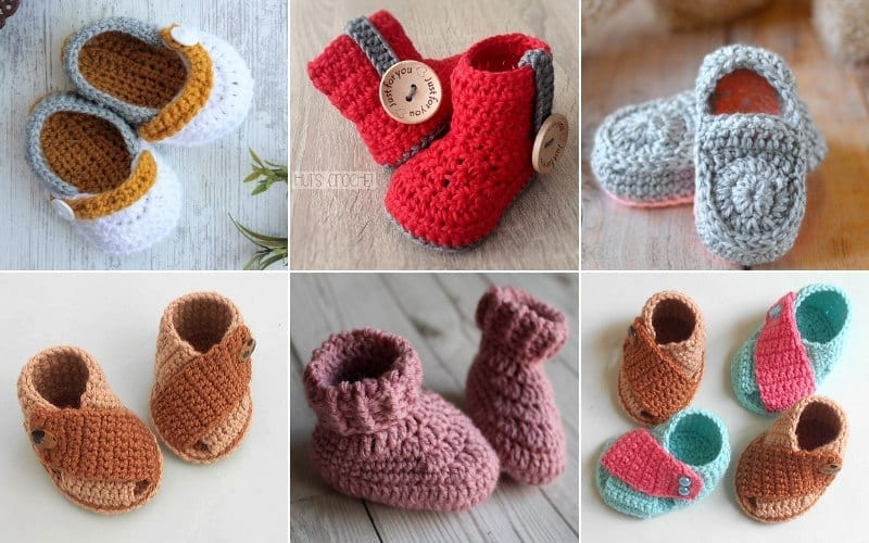 The Cutest Baby Booties