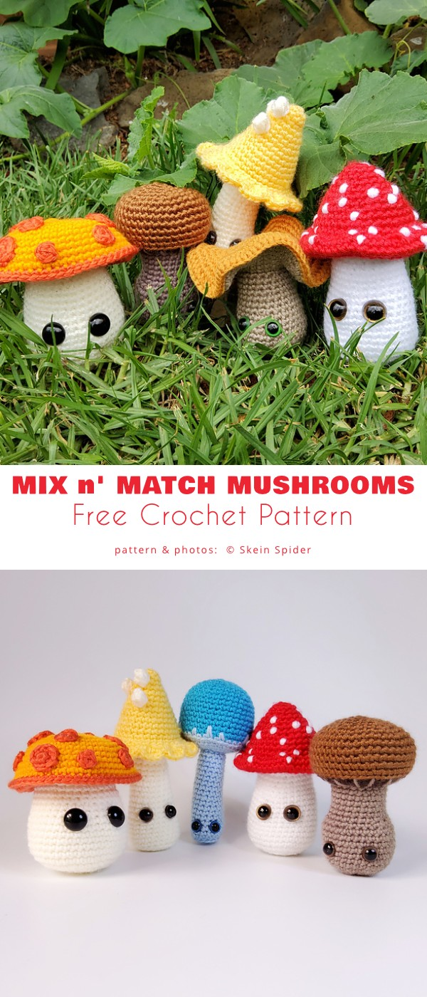 Mix n' Match Mushrooms
