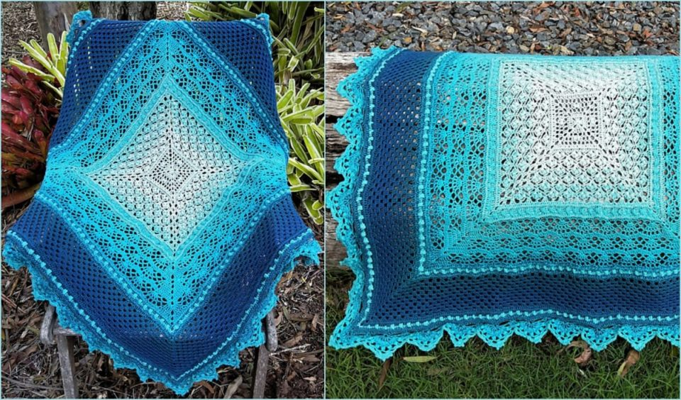 Magnificent Marge Blanket Free Crochet Pattern