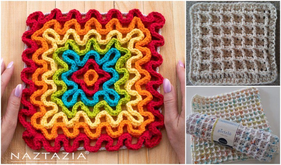 Wavy Pad Free Crochet Pattern