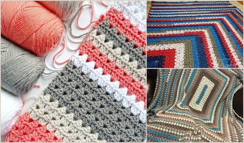 Modern Granny Blanket