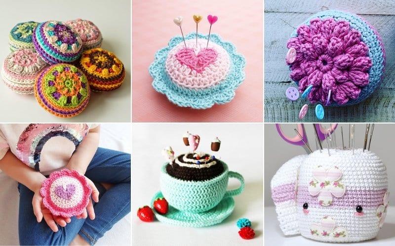 Lovely Crochet Pincushions