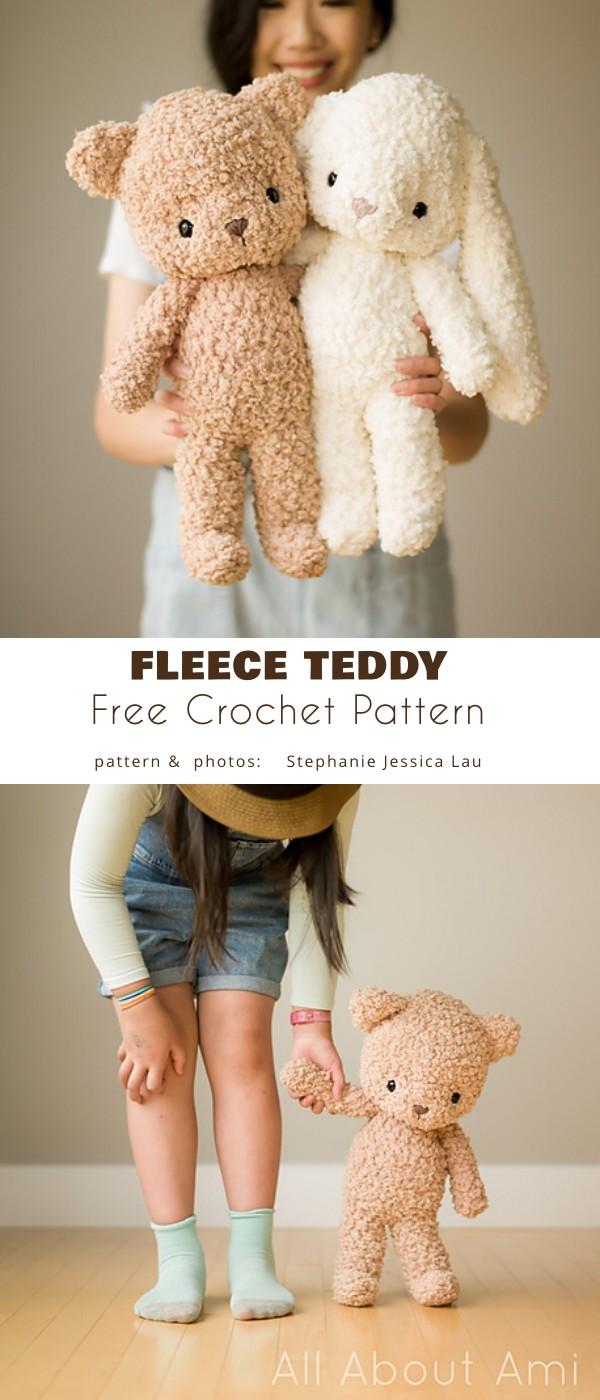 Fleece Teddy