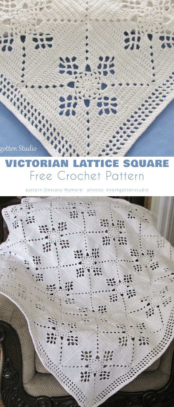 Victorian Lattice Square