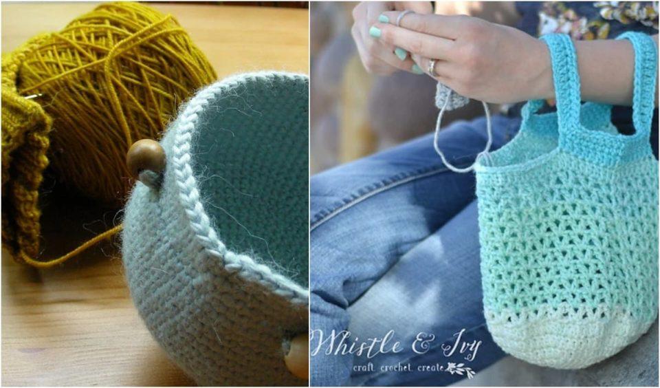 Crochet Project Bag