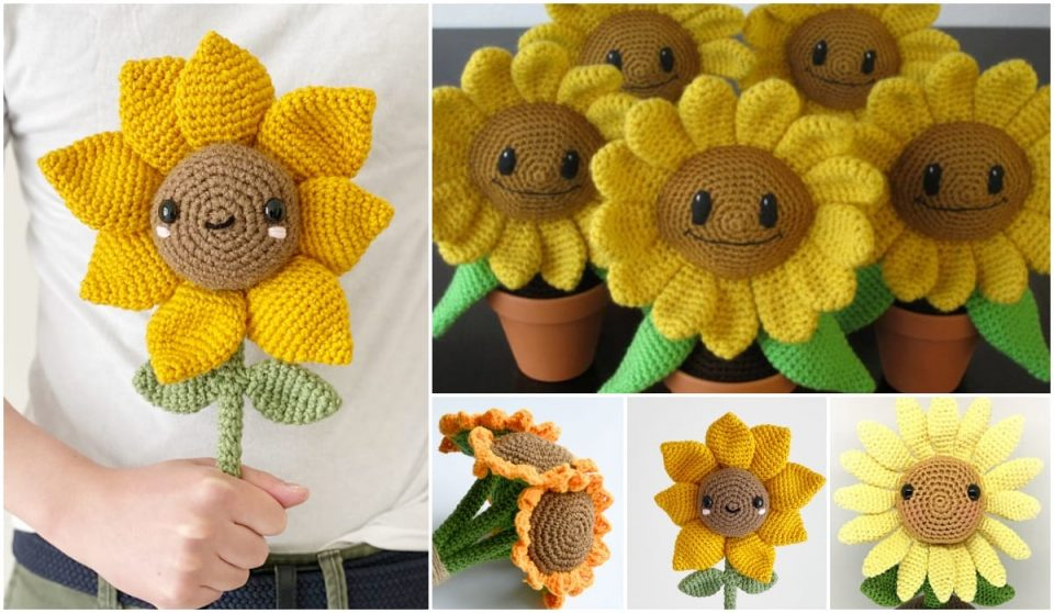 Sunflowers Free Patterns