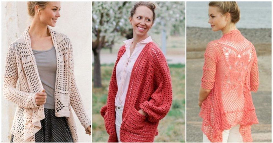 Summer Crochet Cardigans