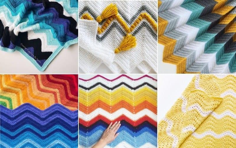 Chevron Stitch Blanket Ideas