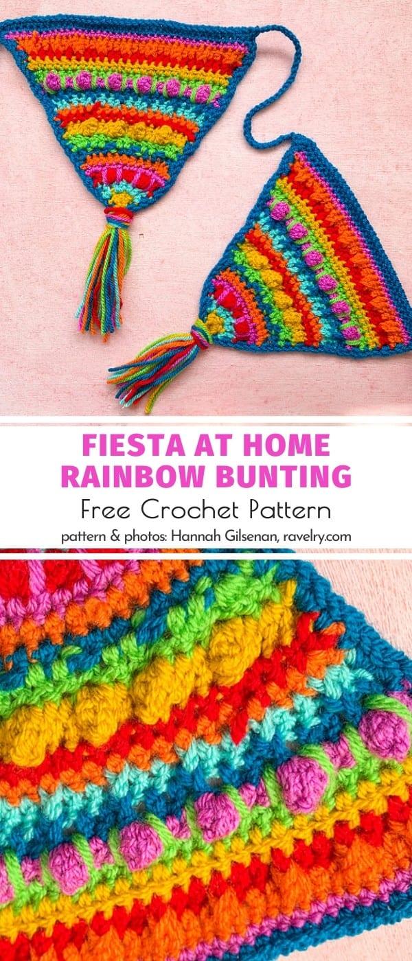Fiesta at Home Rainbow Bunting