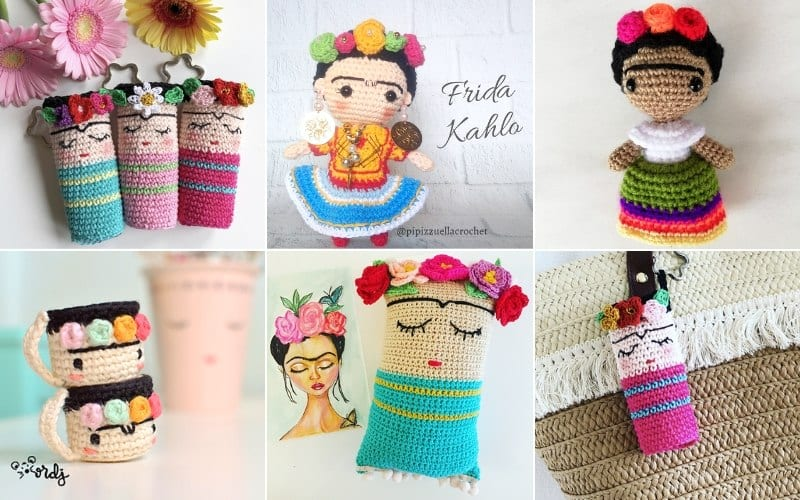 Frida Kahlo Inspired Crochet Projects