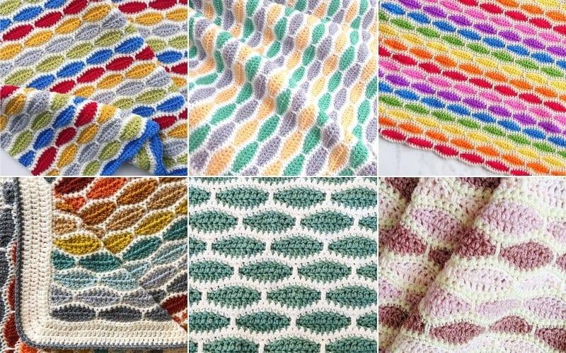 Millstone Stitch Crochet Projects