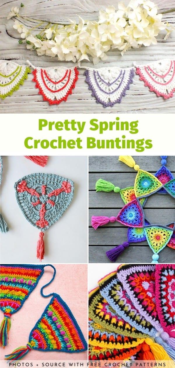 Crochet Buntings
