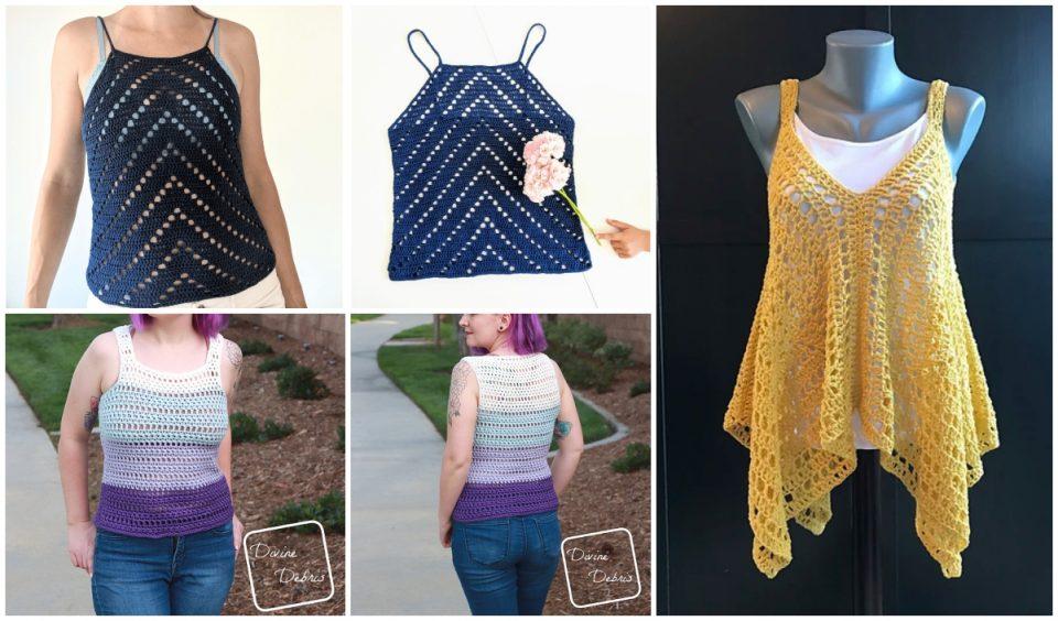 Crochet Summer Tank Top