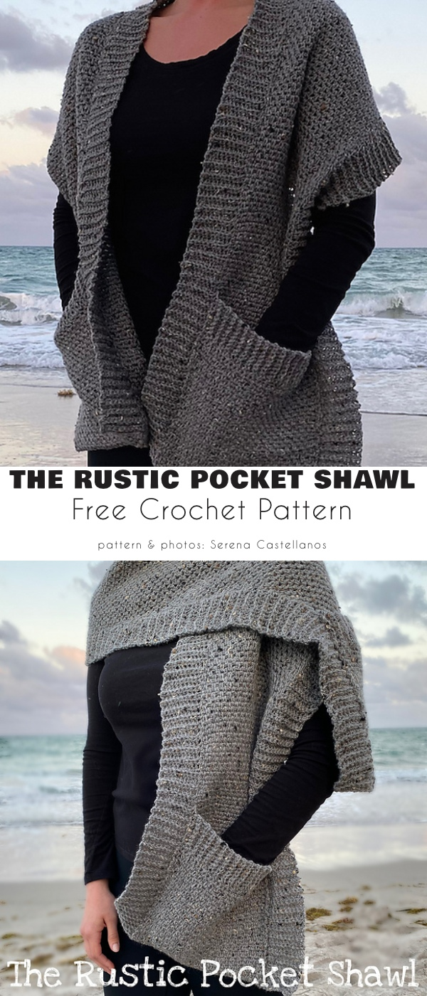 The rustic pocket shawl