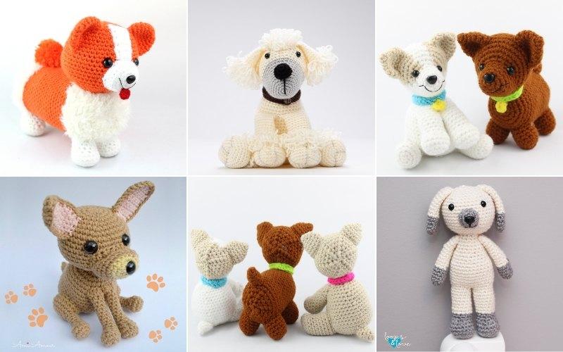 Adorable Crochet Dog Patterns